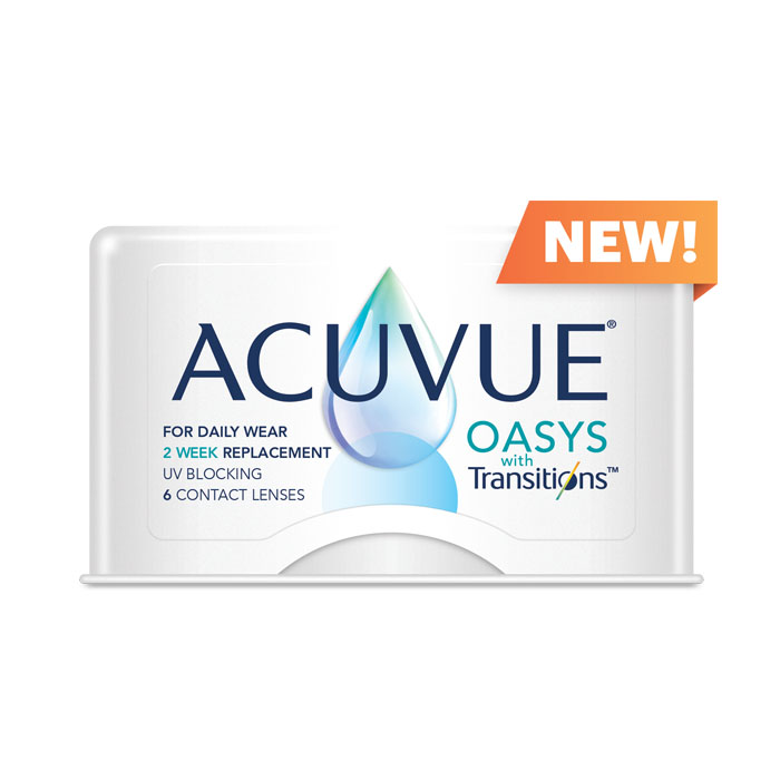 ACUVUE® OASYS with Transitions™ Light Intelligent Technology